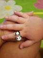 Кольцо панда