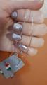 Серебряная цепочка. Размер 40см.