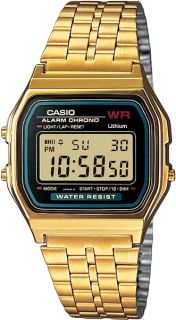 Часы мужские CASIO A-159WGEA-1E: полимер — купить в интернет-магазине SUNLIGHT, фото, артикул 111281