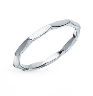 Серебряное кольцо: белое серебро 925 пробы — купить в Санкт-Петербурге, фото, артикул 109562 — интернет-магазин SUNLIGHT