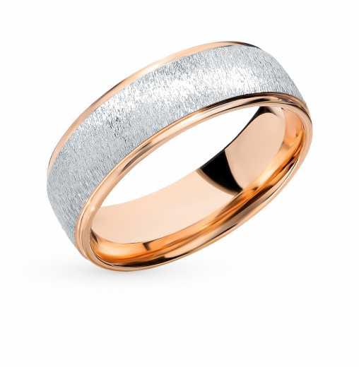 Кольцо Белое золото, розовое золото 585 пробы. −50% Пушкинский ювелирный  завод b6dc3dcb673