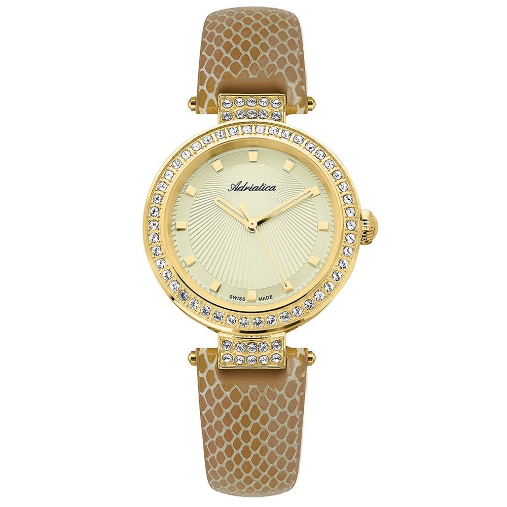 Фото «Женские часы A3692.1211QZ на кожаном ремешке с минеральным стеклом»