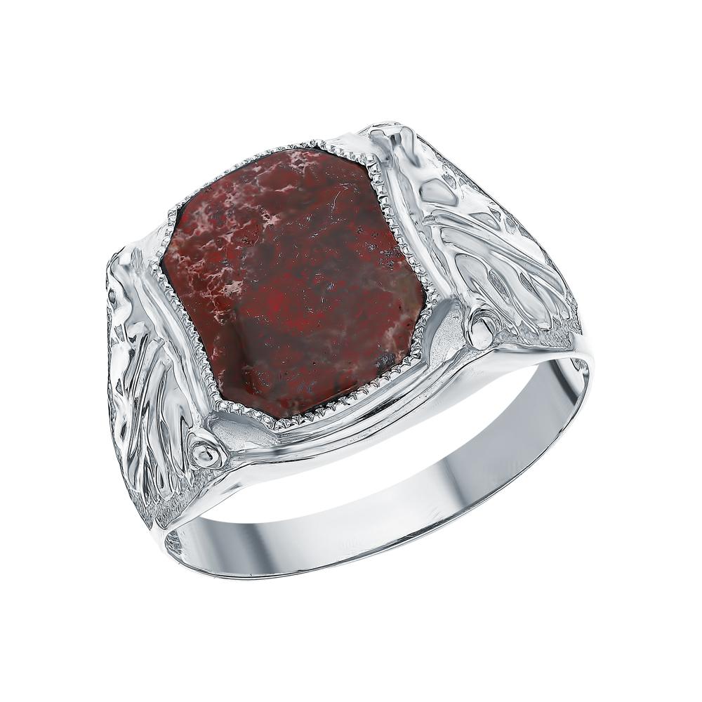 Фото «Серебряное кольцо с яшмой»
