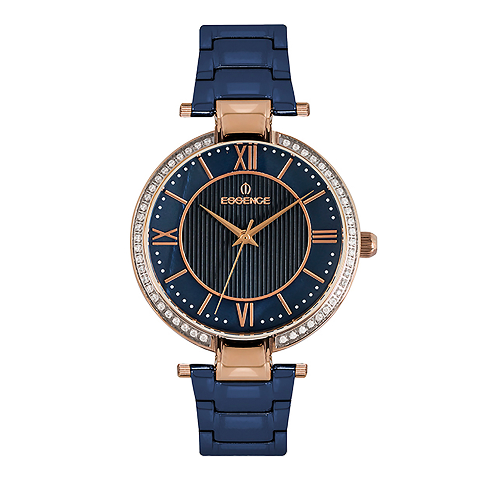 Фото «Женские  кварцевые часы ES6504FE.490 на стальном браслете с минеральным стеклом»