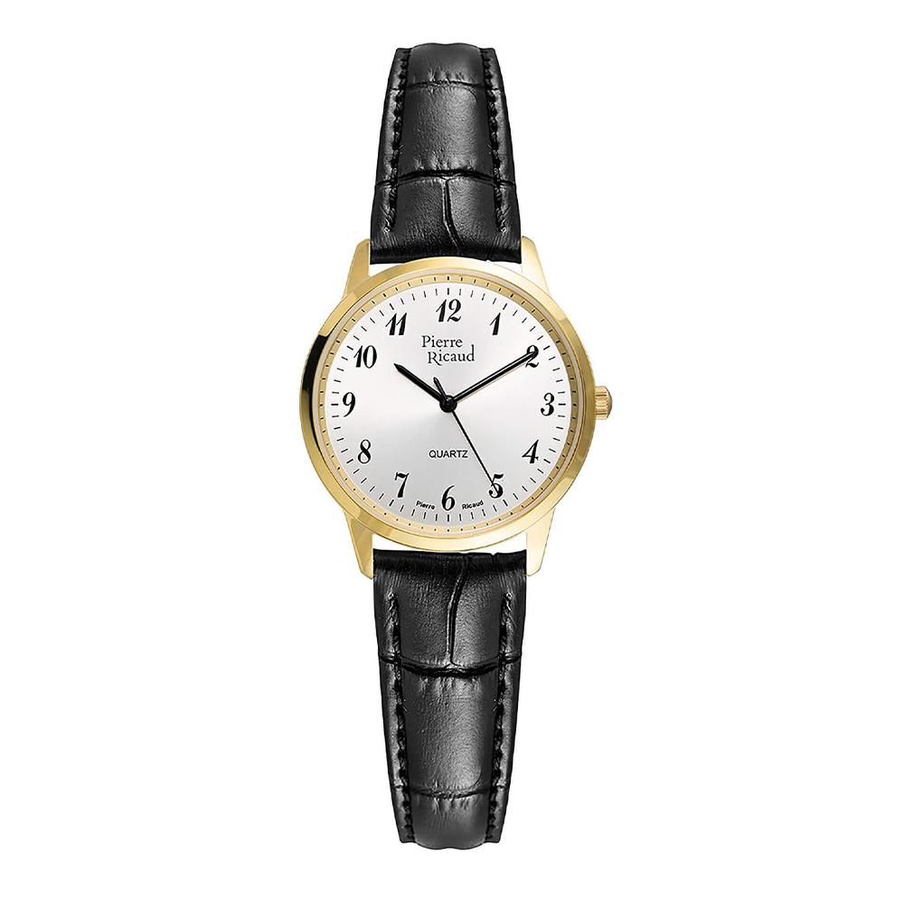 Женские кварцевые часы P51090.1223Q на кожаном ремешке с сапфировым стеклом в Екатеринбурге