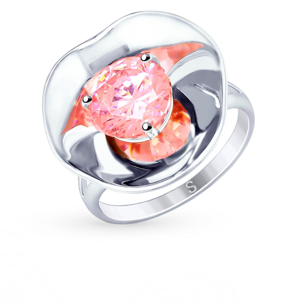 Серебряное кольцо с фианитами SOKOLOV 8-94010003 в Санкт-Петербурге
