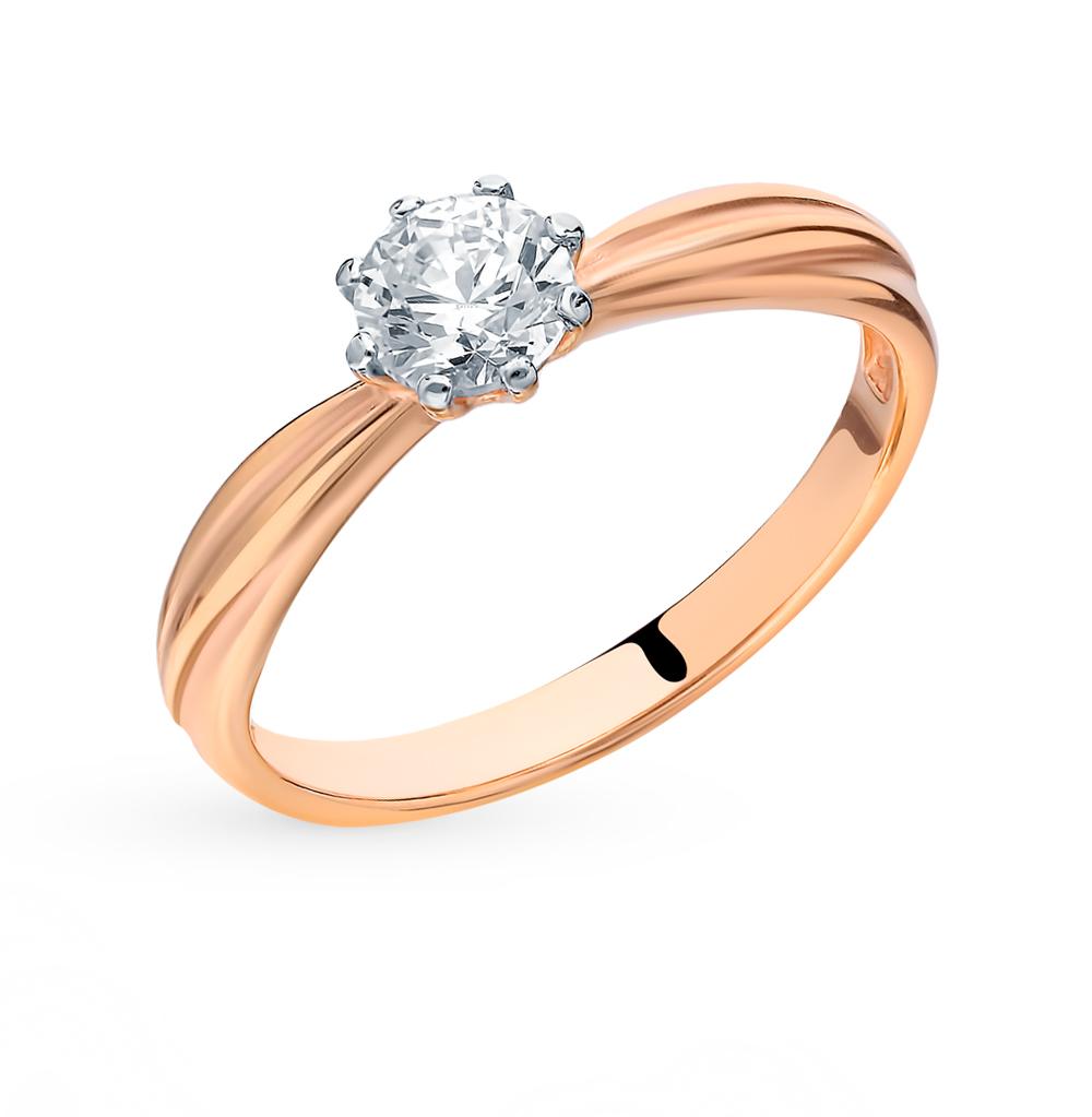 Фото «Серебряное кольцо с фианитами SOKOLOV 89010080»