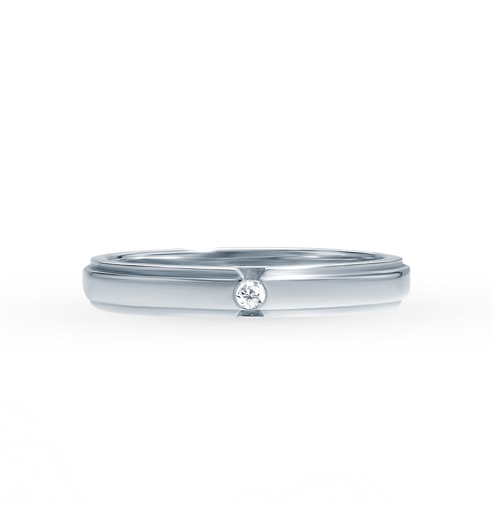 f8dd2c5aafe9 Золотое кольцо с бриллиантами SADKO 0201799   белое золото 585 пробы,  бриллиант — купить в интернет-магазине SUNLIGHT, фото, артикул 45474