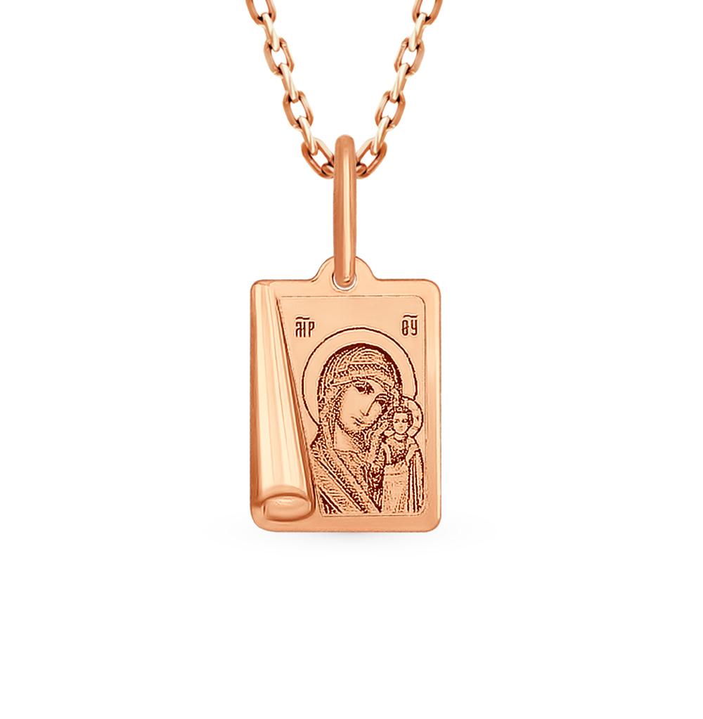 золотая подвеска SOKOLOV 104002*