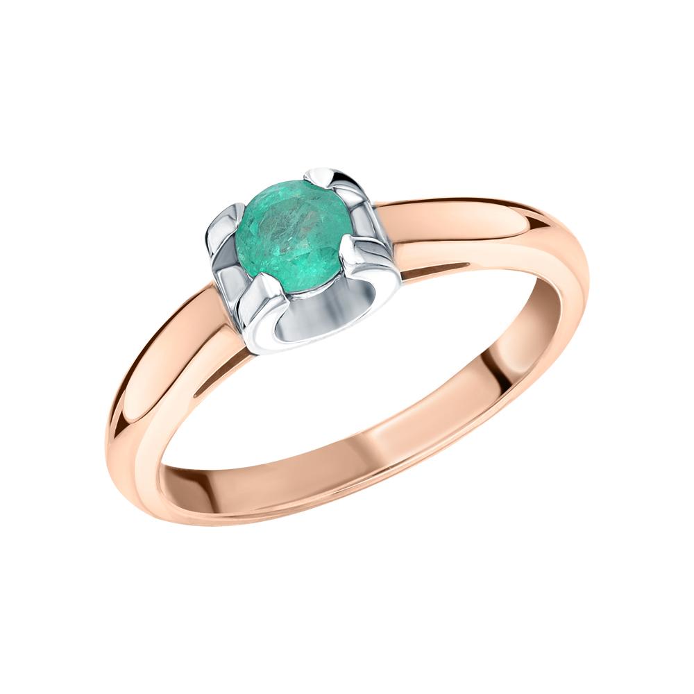 Золотое кольцо с изумрудом в Екатеринбурге