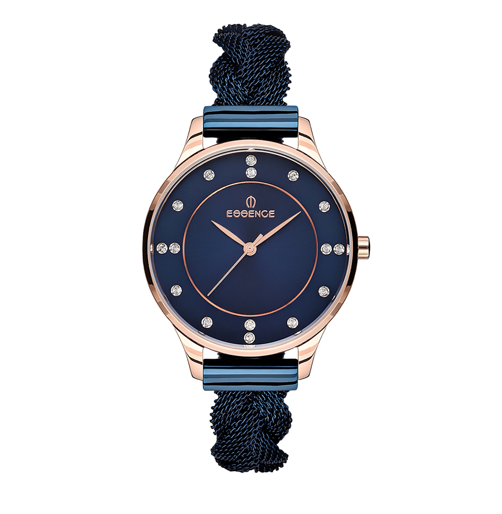 Женские часы ES6450FE.990 на стальном браслете с IP покрытием с минеральным стеклом