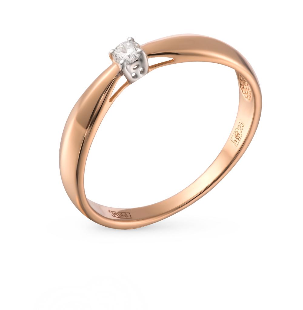 Фото «Золотое кольцо с бриллиантами SOKOLOV 1011441»