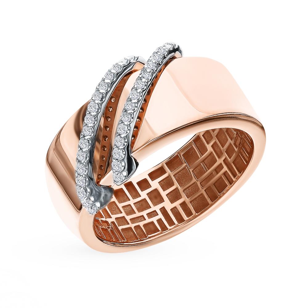 Золотое кольцо с бриллиантами SOKOLOV 1011975 в Екатеринбурге