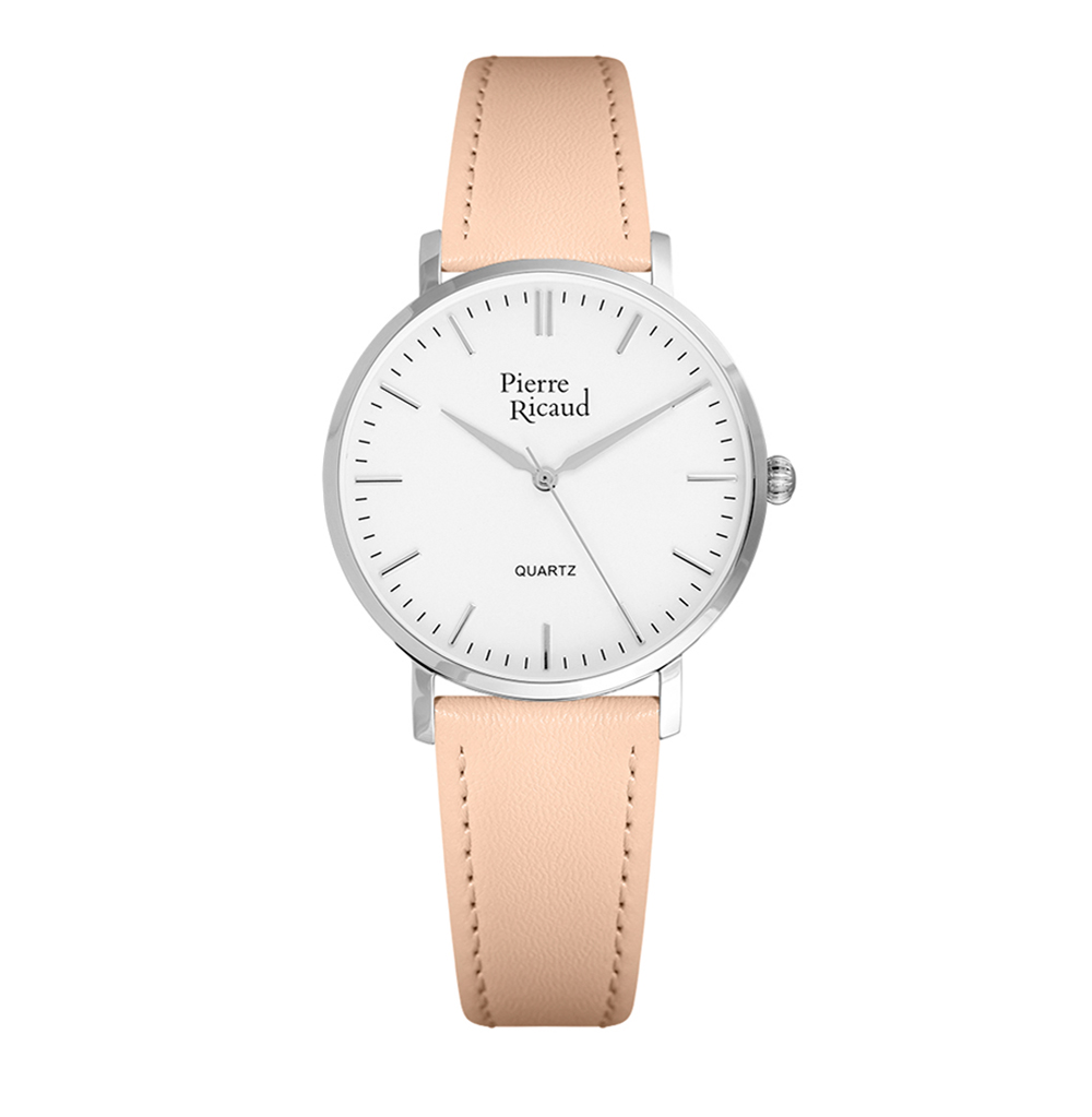Женские часы P51074.5Z13Q на кожаном ремешке с минеральным стеклом