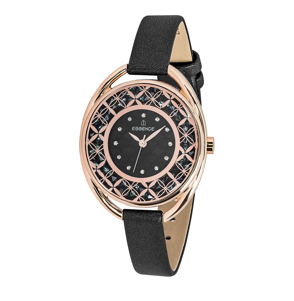 Женские часы D941.451 на кожаном ремешке с минеральным стеклом