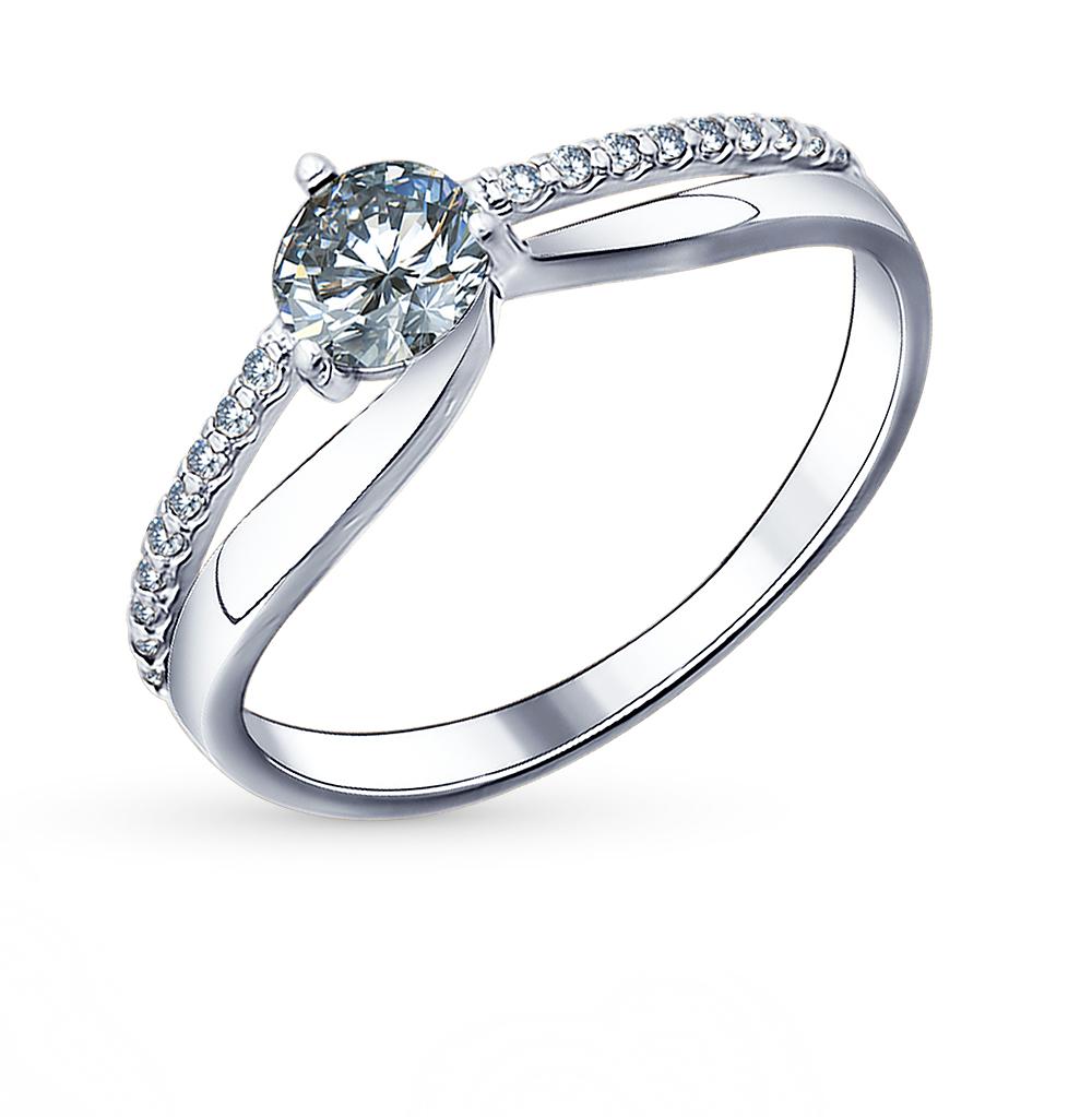 Серебряное кольцо с фианитами SOKOLOV 94011491 в Екатеринбурге