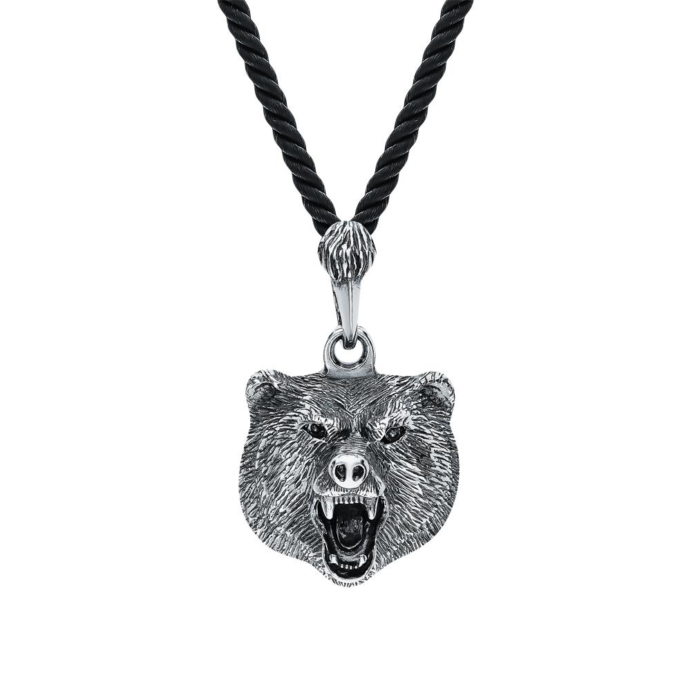 Серебряная подвеска Медведь в Санкт-Петербурге