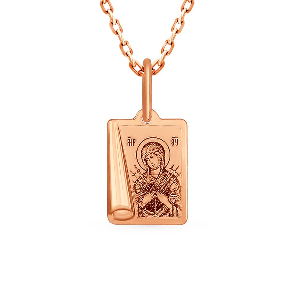 золотая подвеска SOKOLOV 104004*