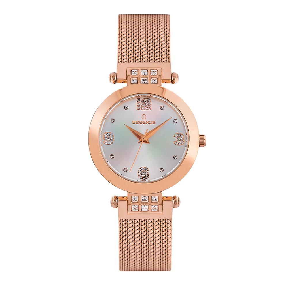 Фото «Женские  кварцевые часы ES6547FE.420 на стальном браслете с минеральным стеклом»