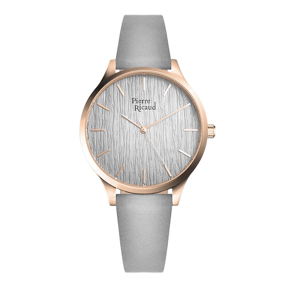 Фото «Женские часы P22081.9GR7Q на кожаном ремешке с минеральным стеклом»