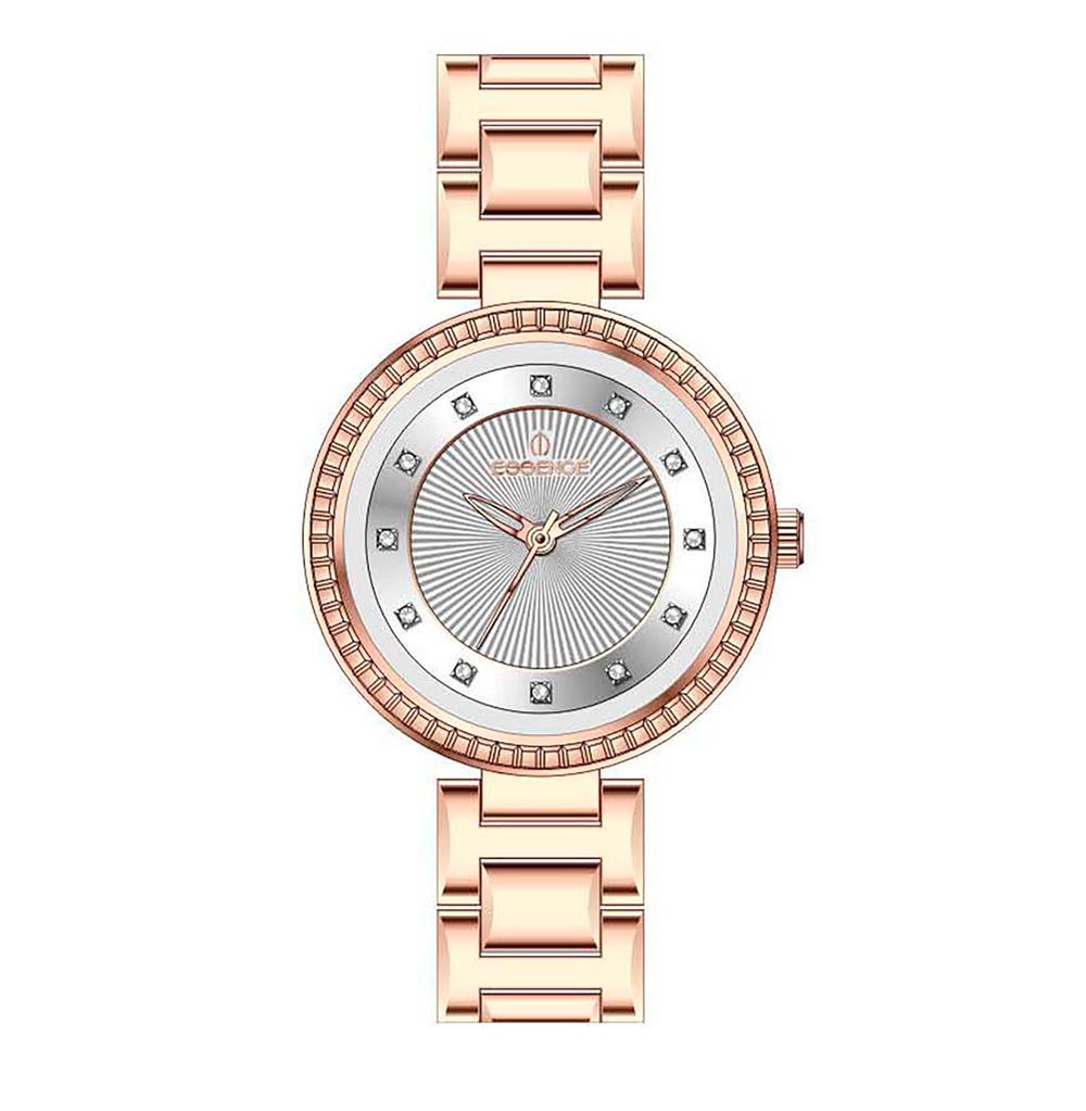 Фото «Женские  кварцевые часы ES6500FE.430 на стальном браслете с минеральным стеклом»