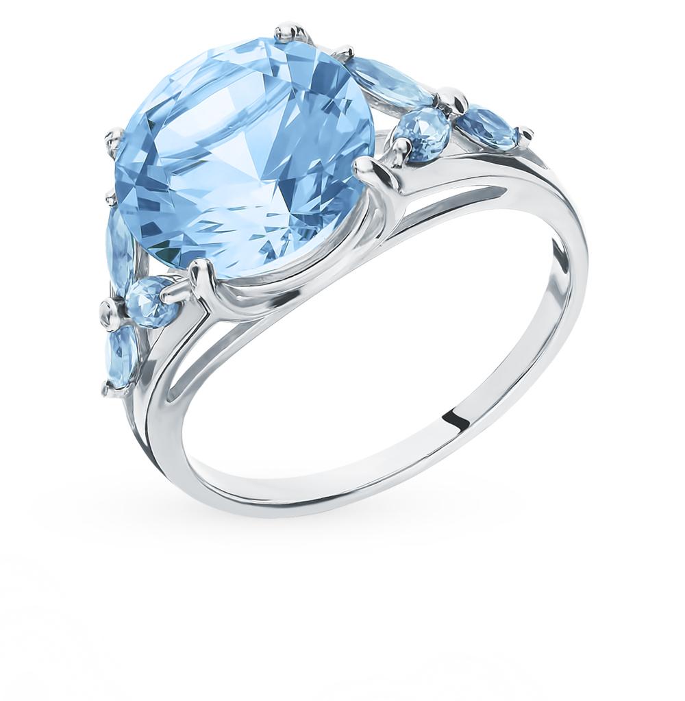 серебряное кольцо с фианитами SOKOLOV 94012797