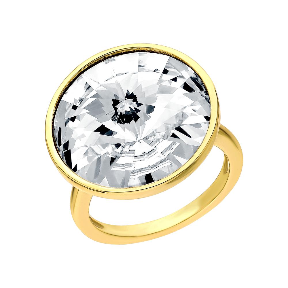 Серебряное кольцо с кристаллами swarovski в Екатеринбурге