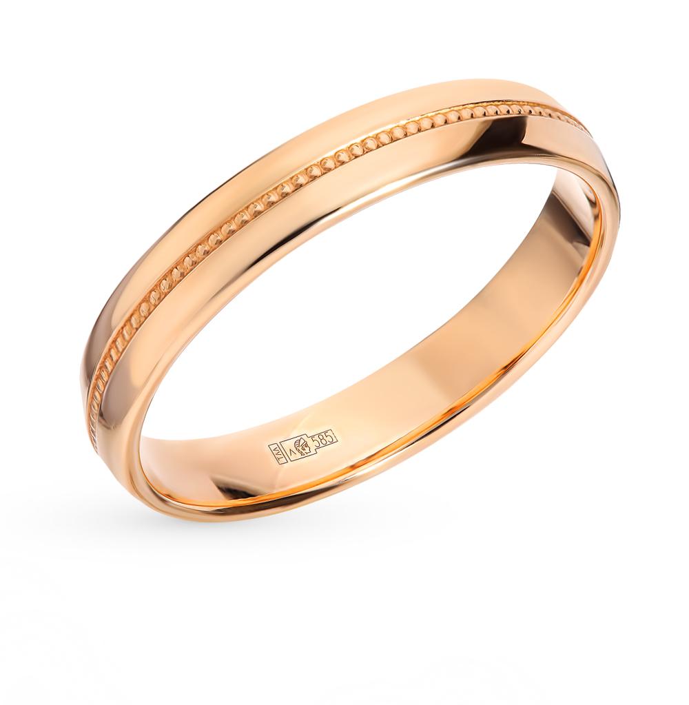 dc04ae30c2b4 Золотое кольцо SADKO 802000300   красное и розовое золото 585 пробы ...