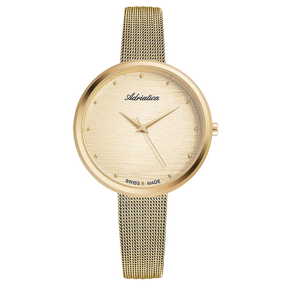 Фото «Женские часы A3716.1141Q на стальном браслете с PVD покрытием с минеральным стеклом»
