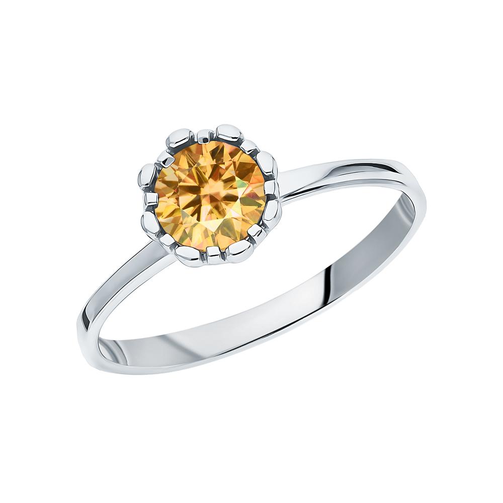 Фото «Серебряное кольцо с цитринами»