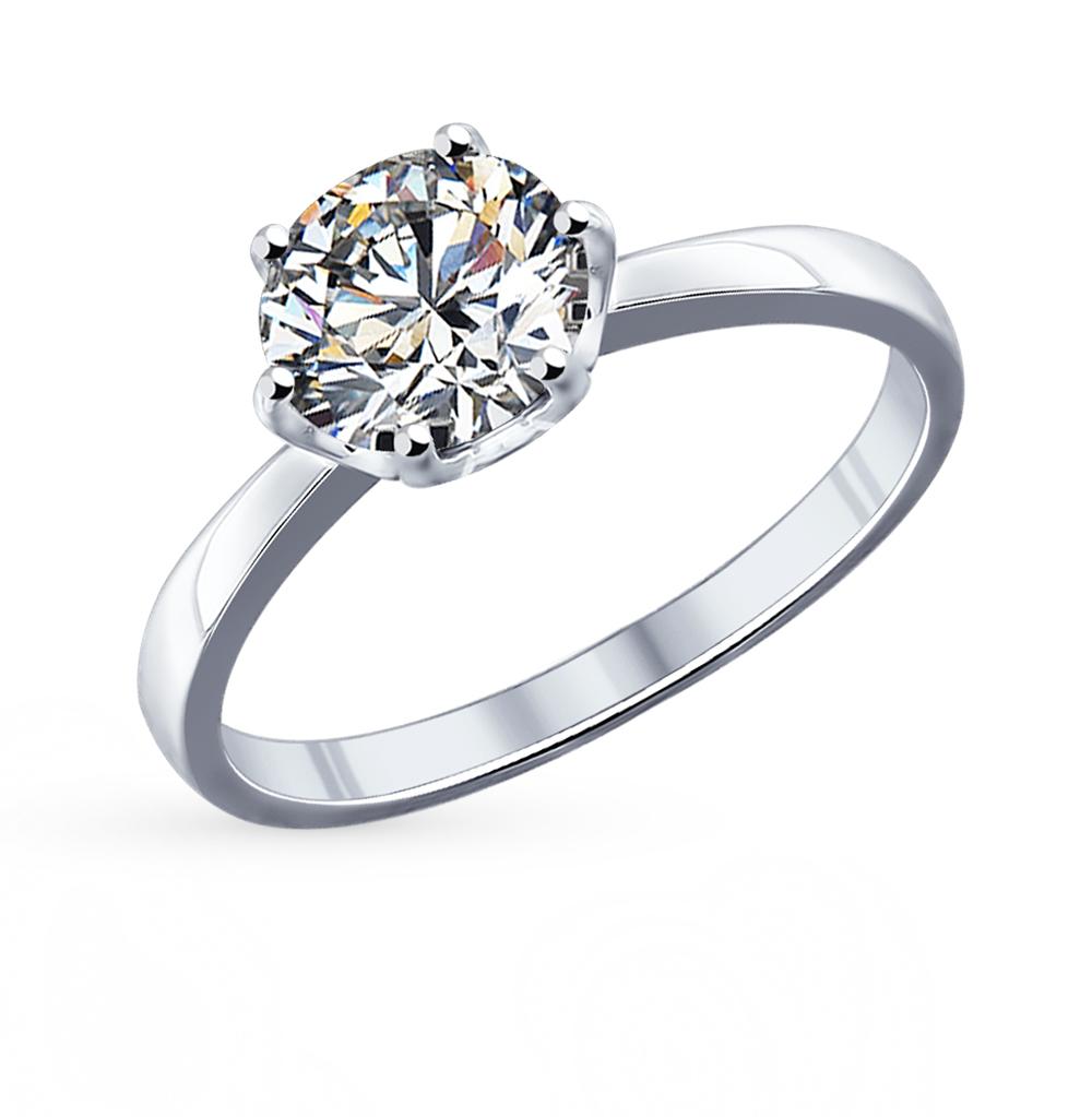 Фото «Серебряное кольцо с фианитами SOKOLOV 94011741»