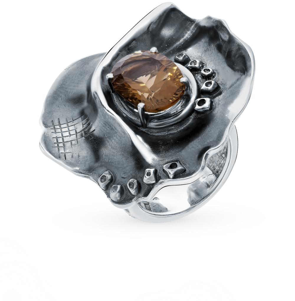 Серебряное кольцо «Цветок сада Мажорель» в Санкт-Петербурге