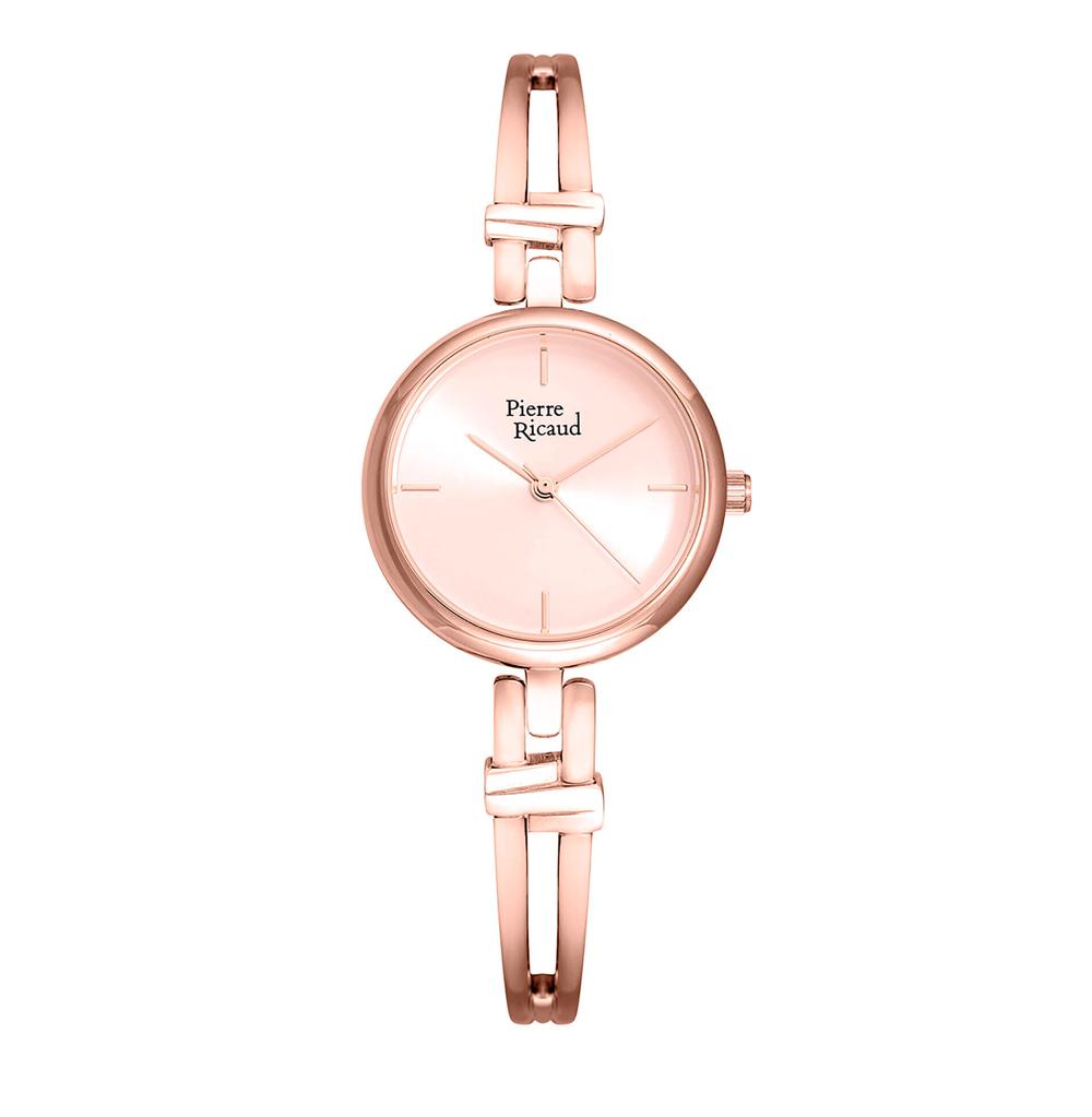Фото «Женские кварцевые часы P21037.911RQ на стальном браслете с минеральным стеклом»