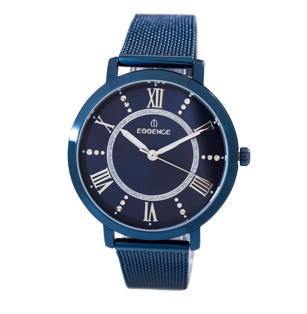 Фото «Женские  кварцевые часы ES6578FE.990 на стальном браслете с минеральным стеклом»