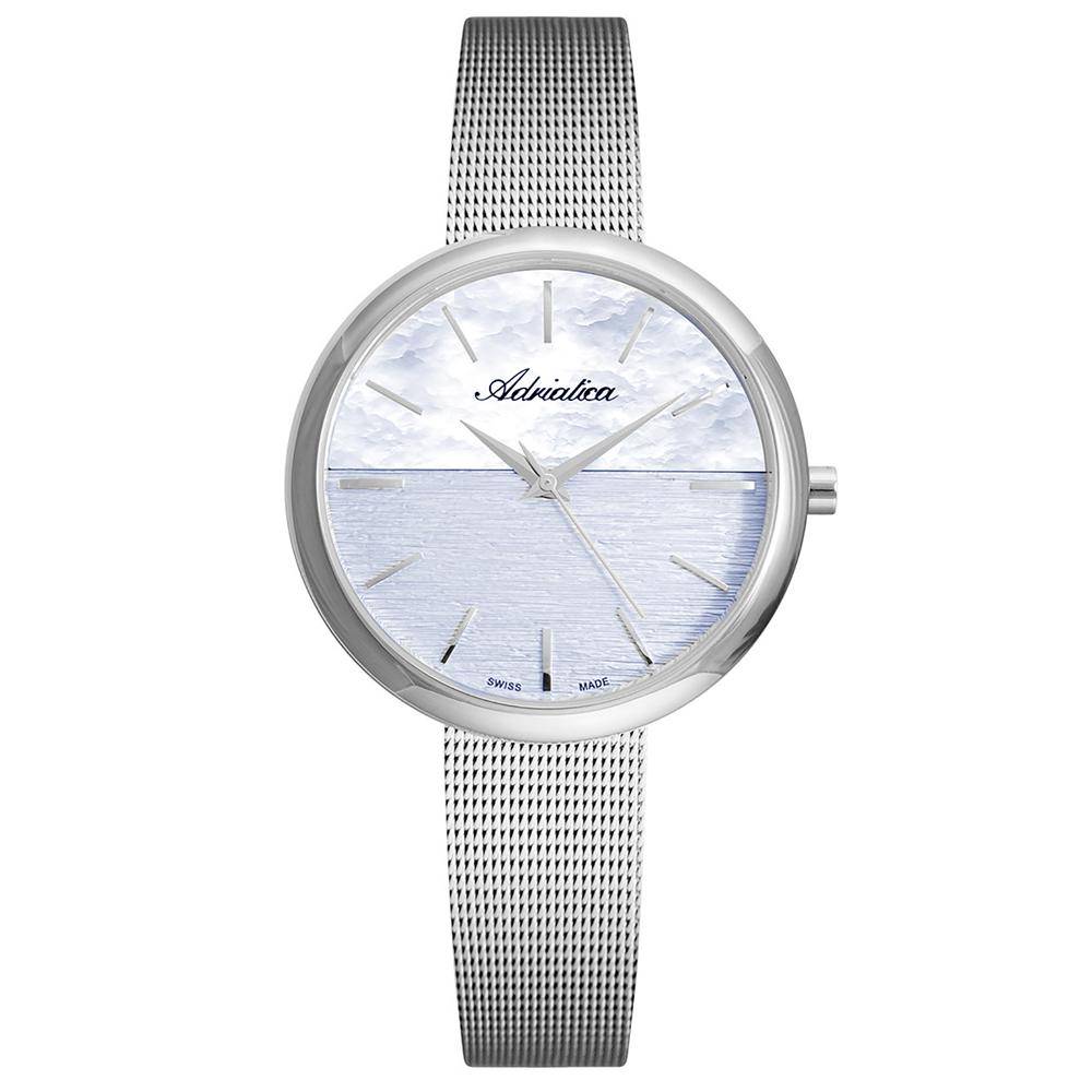 Женские часы A3525.5117Q на стальном браслете с минеральным стеклом в Санкт-Петербурге