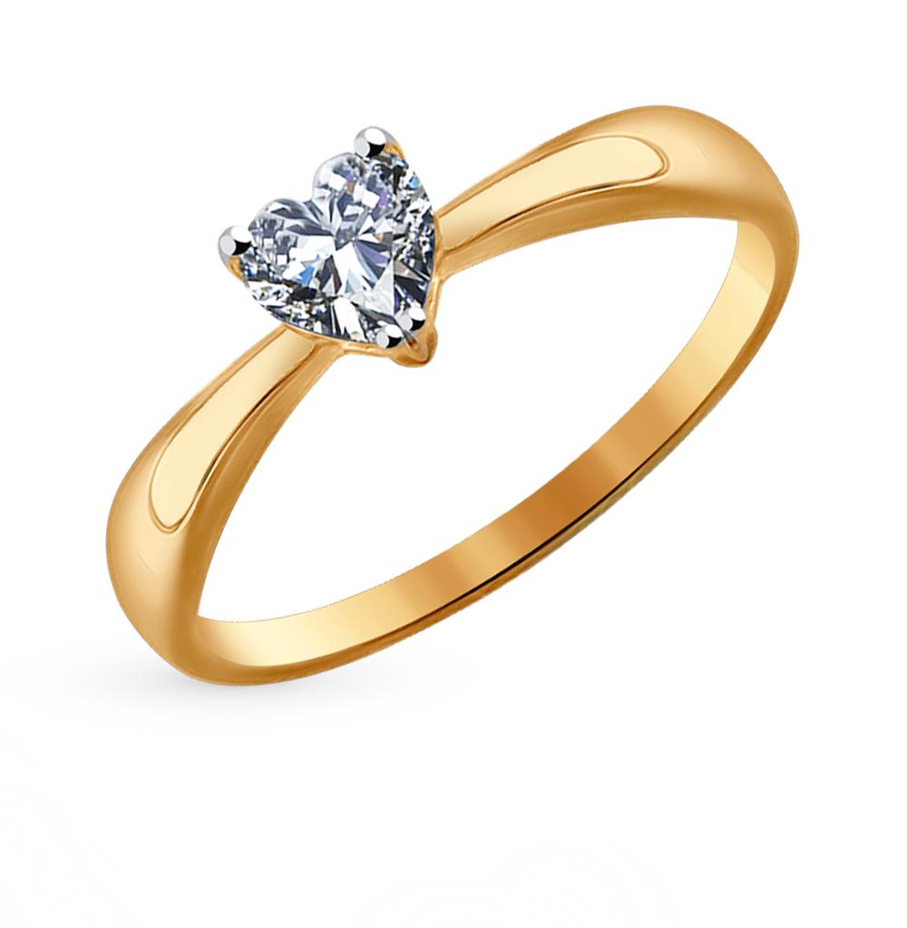 Золотое кольцо с фианитами SOKOLOV 016949* в Екатеринбурге