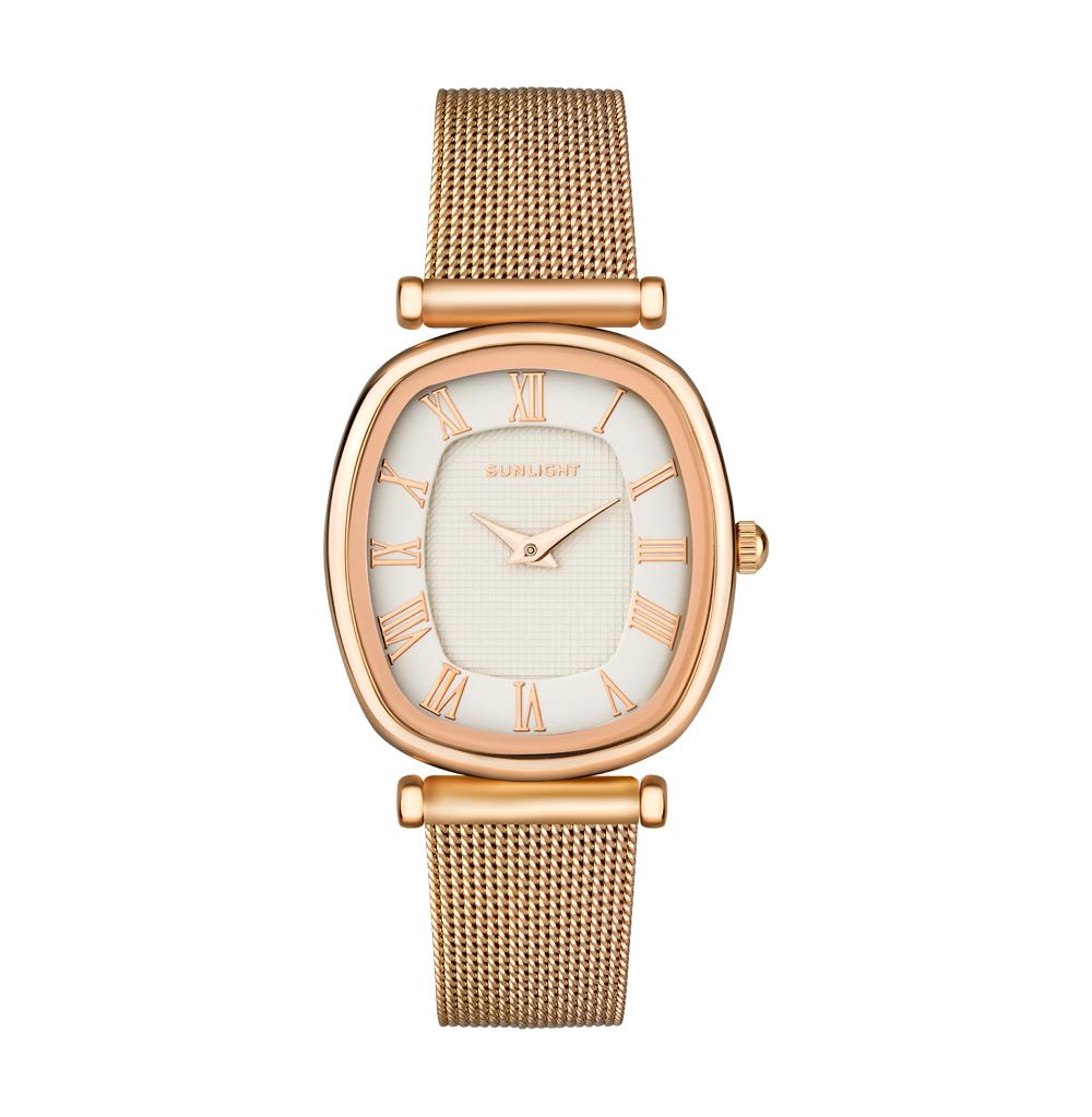 Классические женские часы на миланском браслете