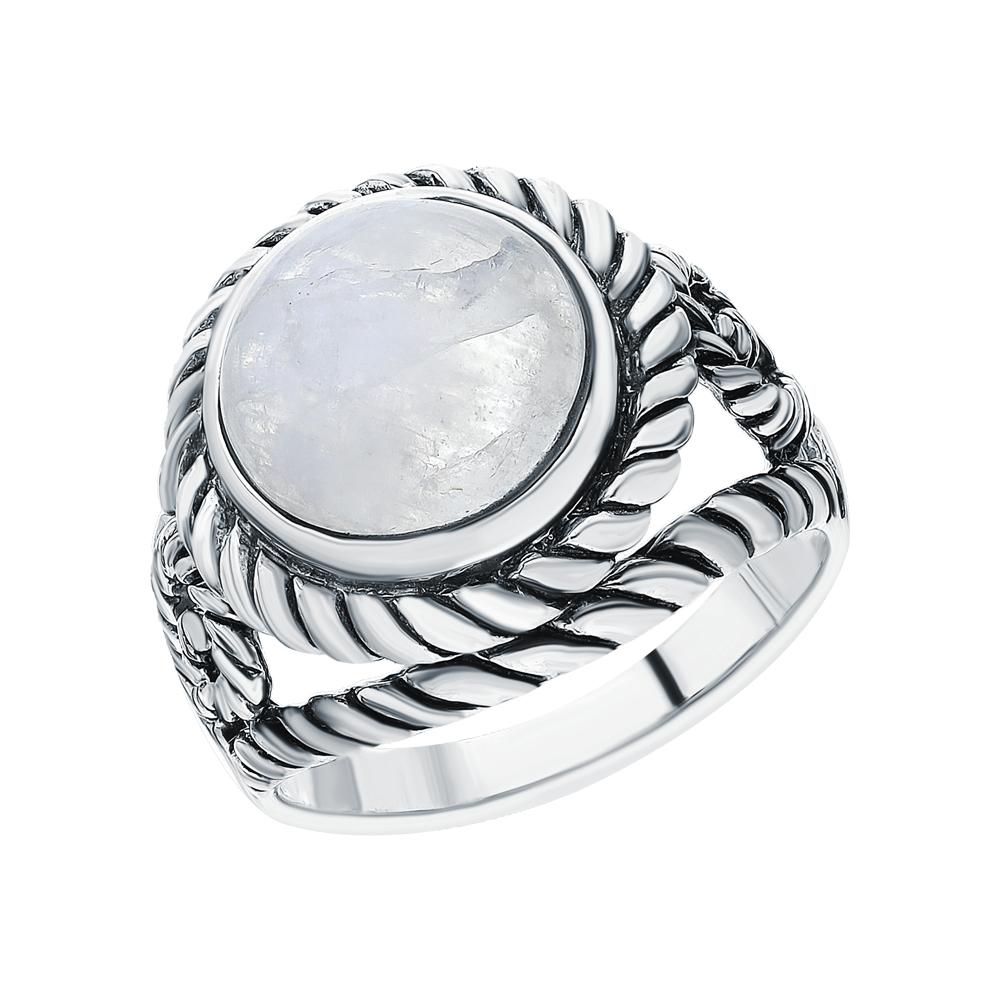 Серебряное кольцо с лунными камнями в Санкт-Петербурге
