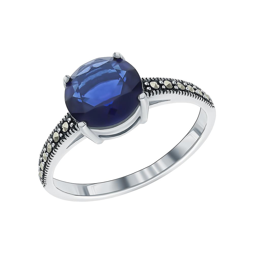 Серебряное кольцо с марказитами и кубическими циркониями в Санкт-Петербурге
