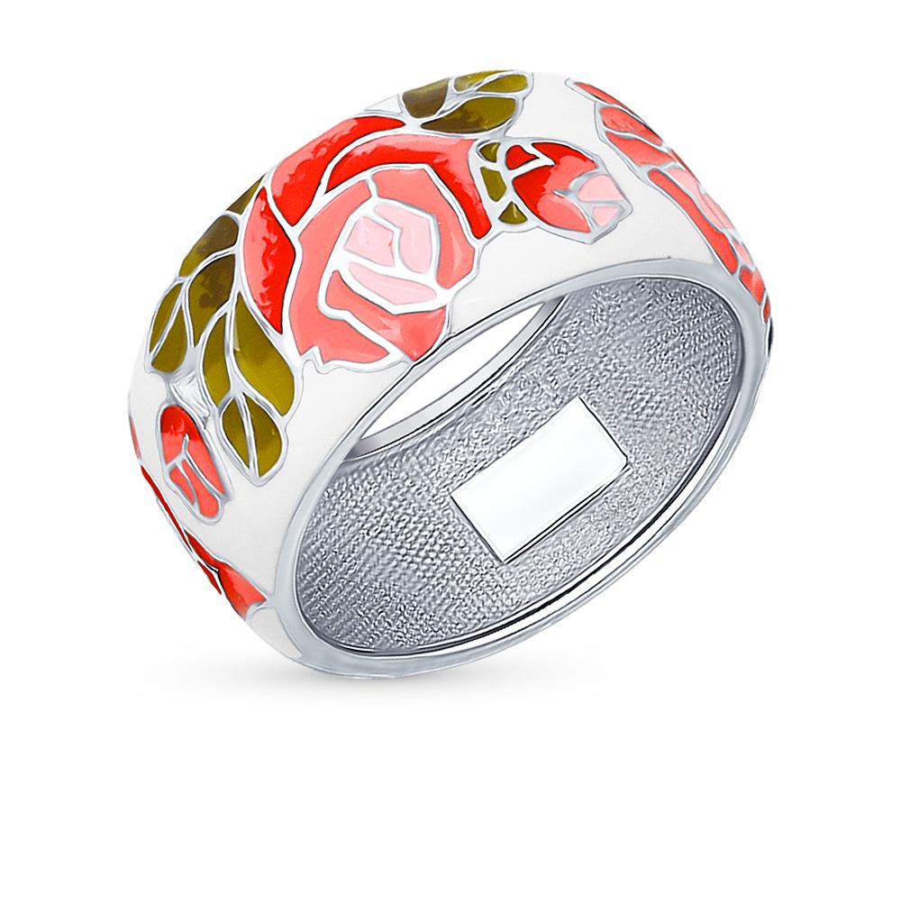 серебряное кольцо с эмалью SOKOLOV 94012127