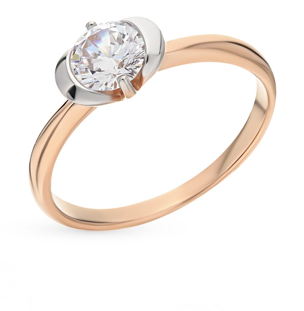 Золотое кольцо с фианитами SOKOLOV 017444* в Санкт-Петербурге