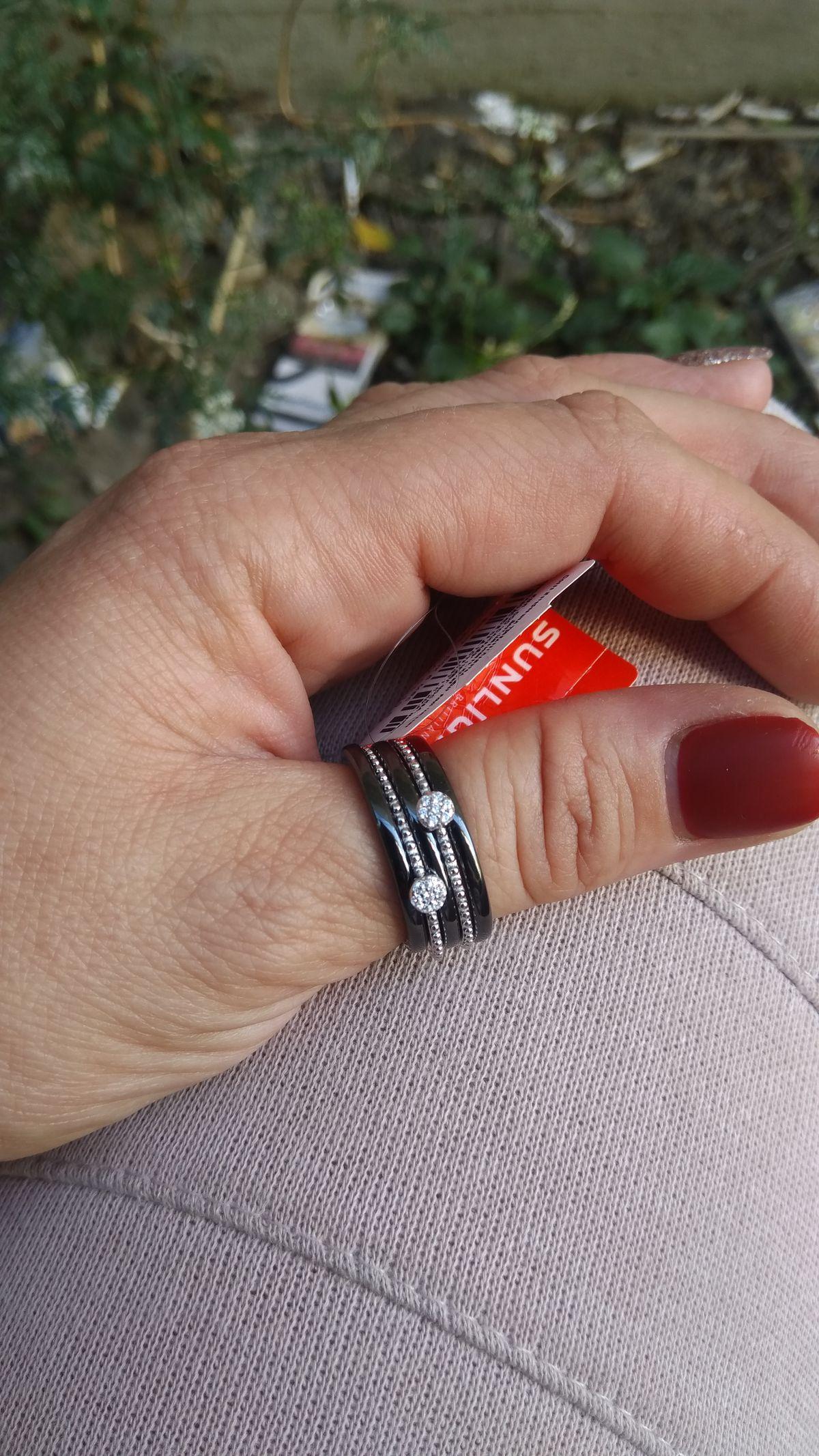 Покупала кольцо для мамы .
