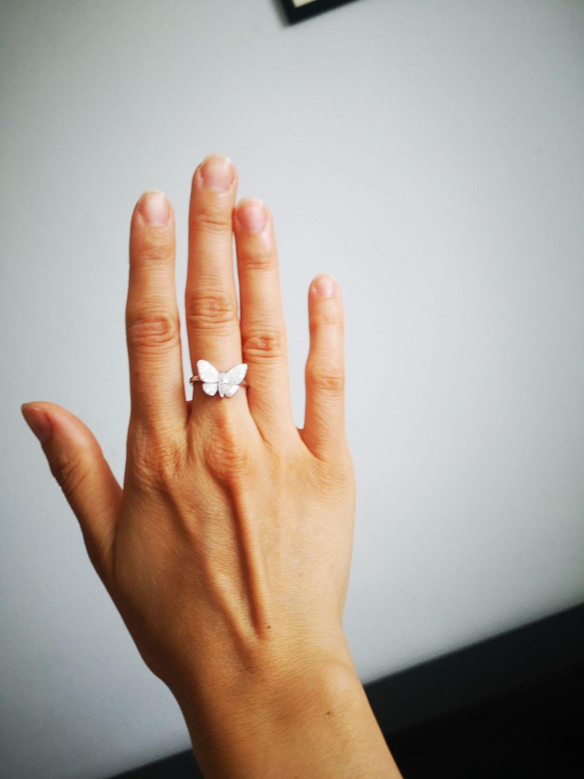 Нежное и милое кольцо