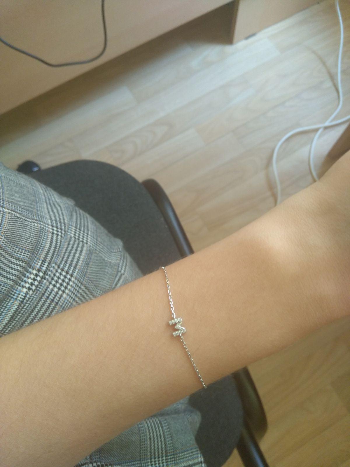 Очень нежный браслет