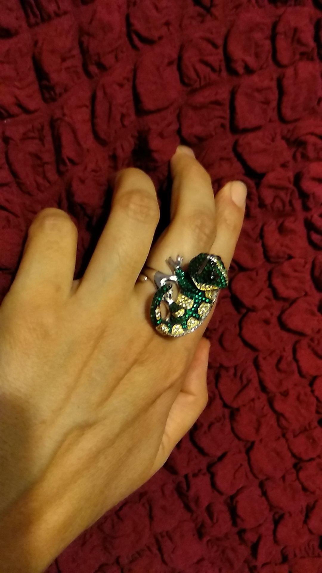 Долгожданное кольцо Хамелеон