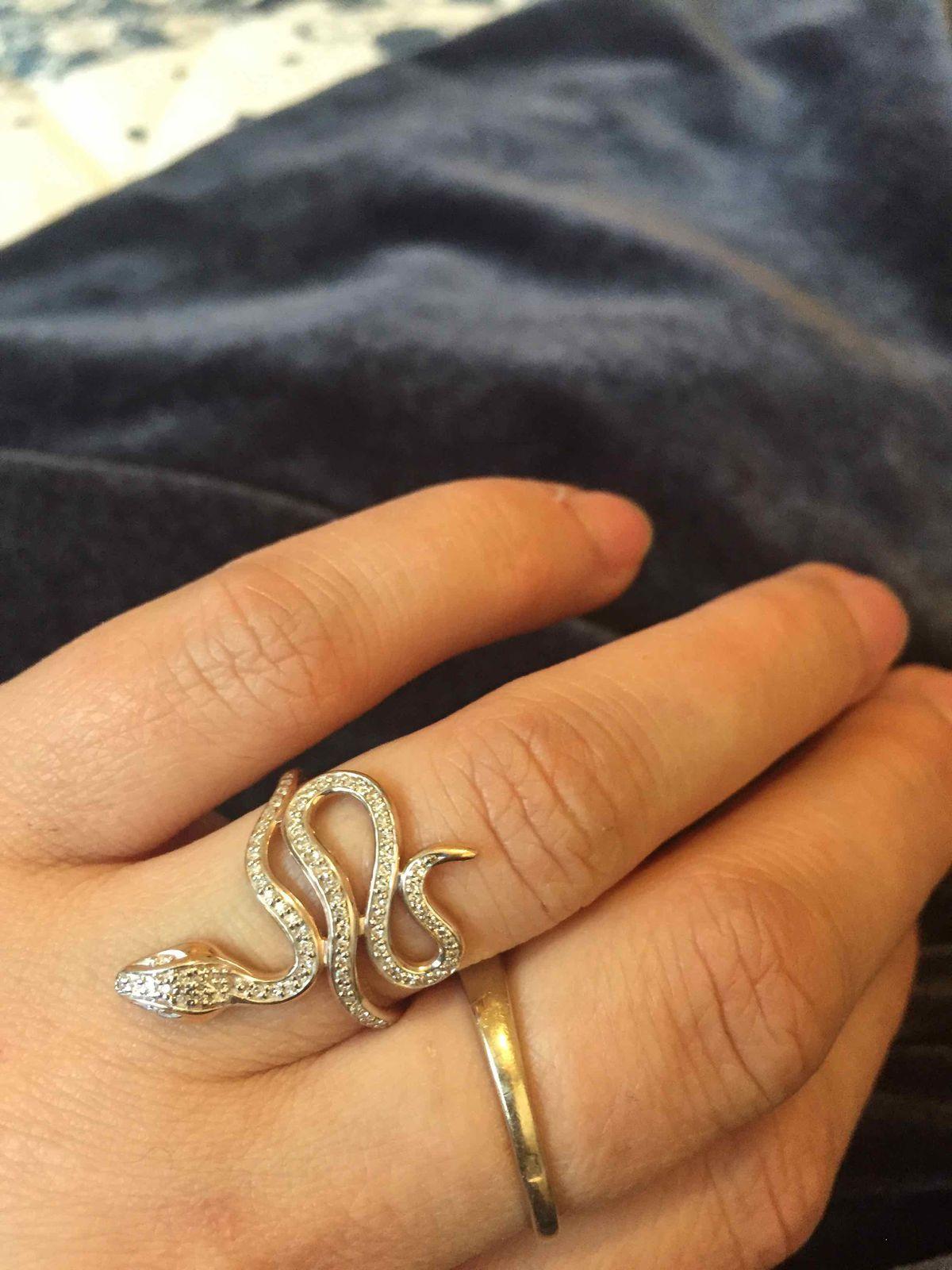 Змейка бриллиантовая