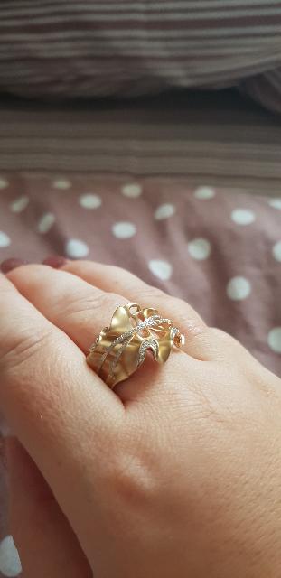 Вау!!! шикарное кольцо!