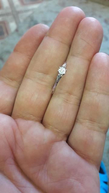 Отличное кольцо,заказывал онлайн,все в сохранности