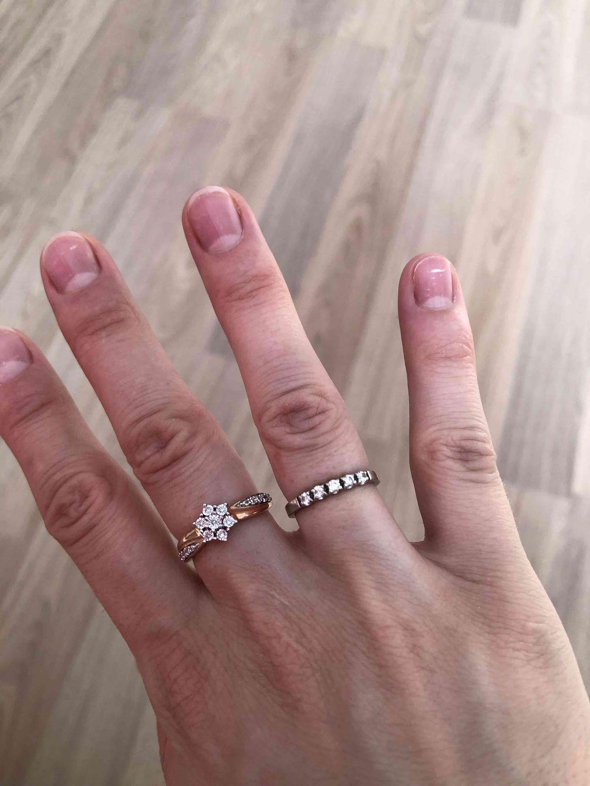 Оригинальное изысканное кольцо