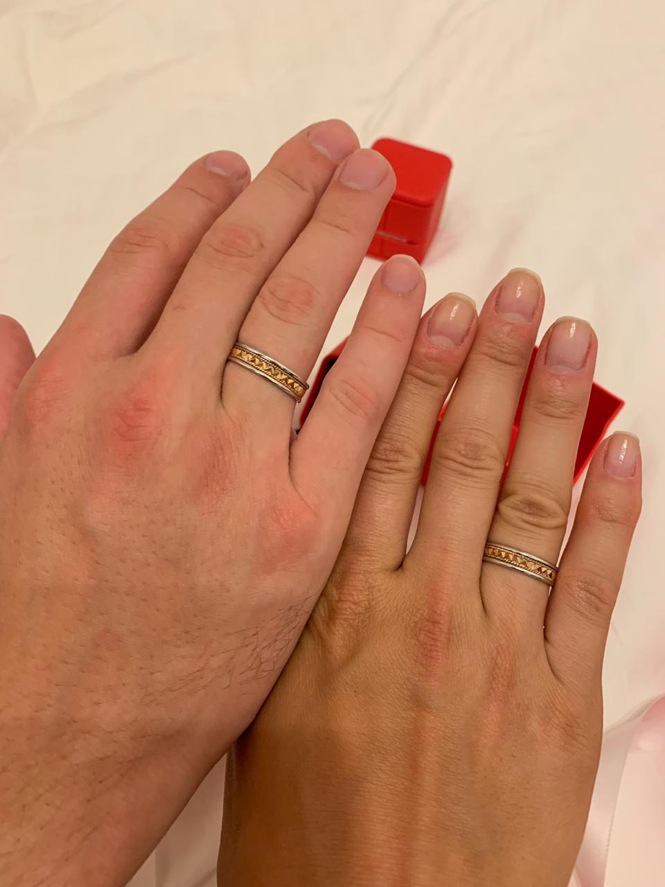 Обручальные кольца самый топ!